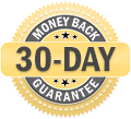 ZeroG 30-Day Money-Back Guarantee badge